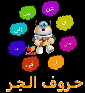 الألعاب التعليمية - حروف الجر - المعلمة أسماء